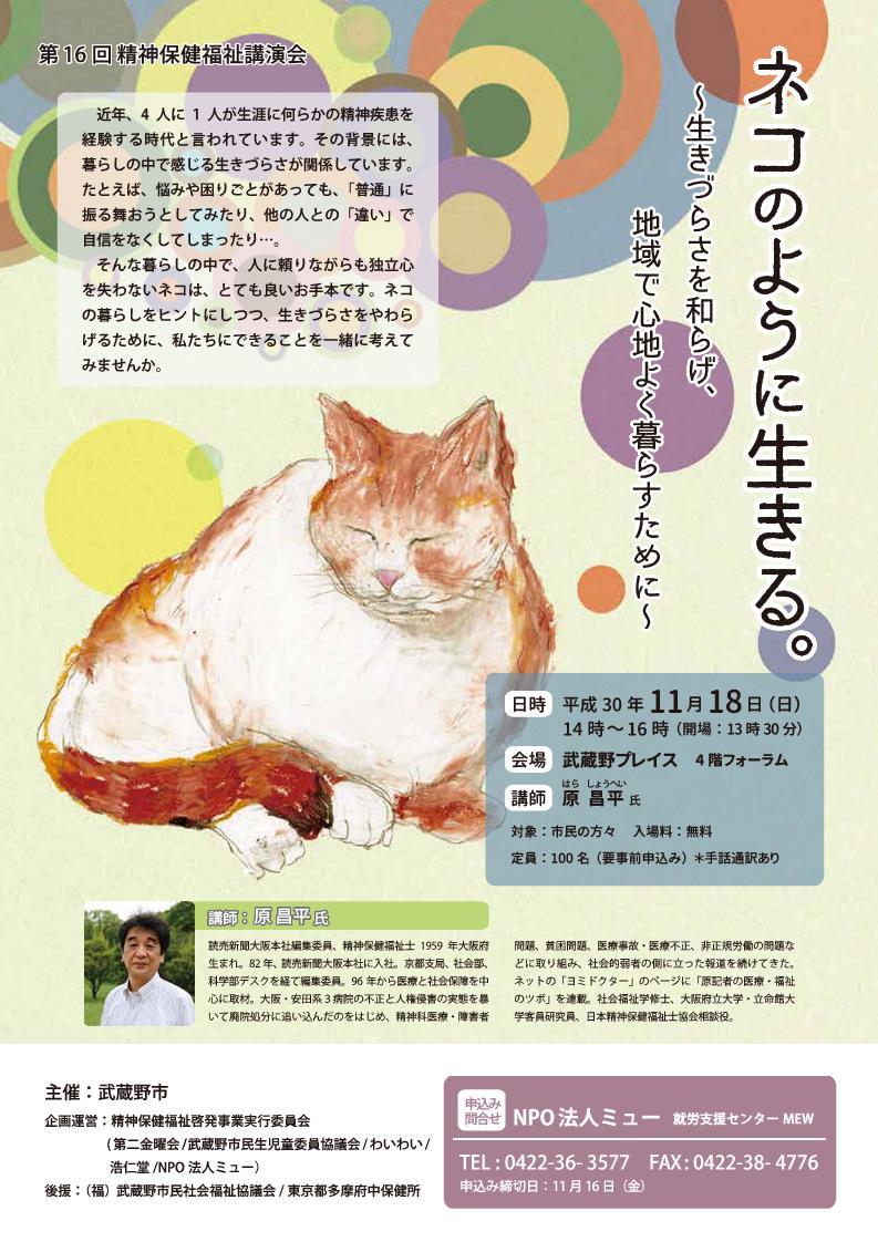ネコのように生きる_チラシ_1